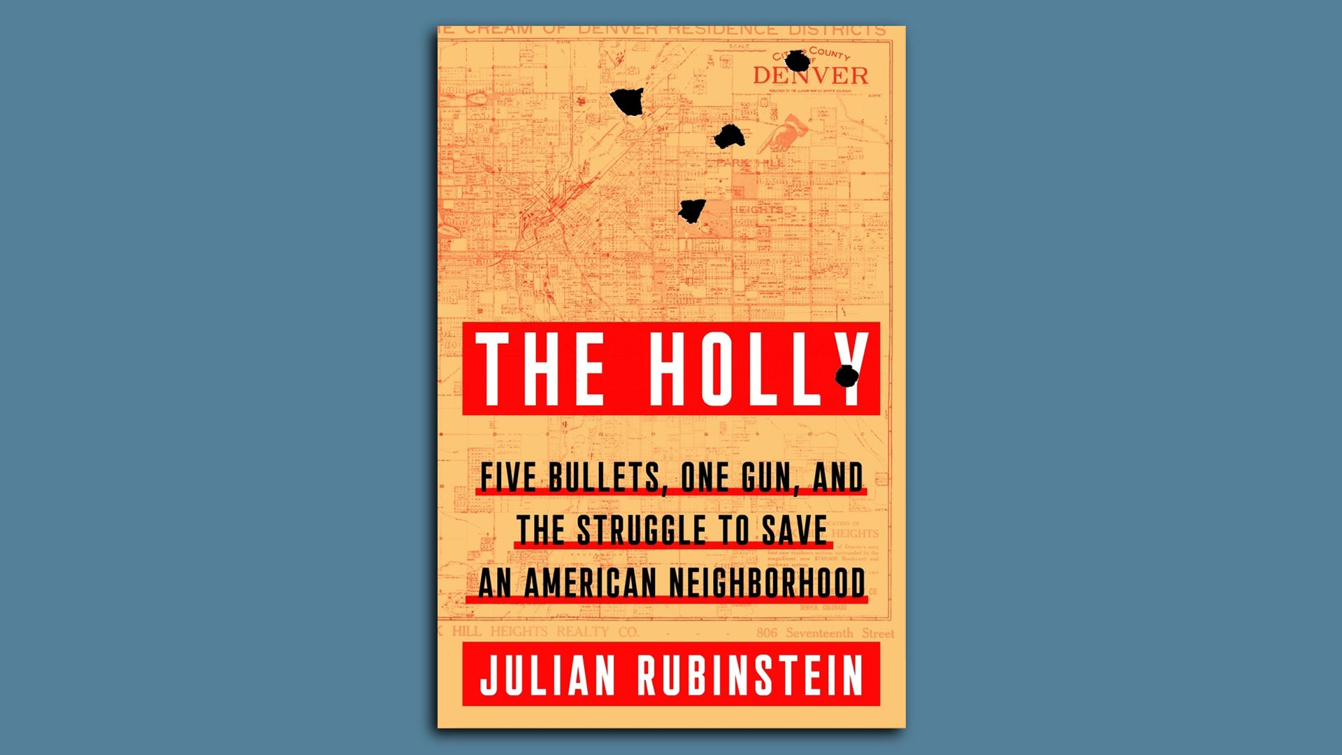 """The book cover for """"The Holly."""""""