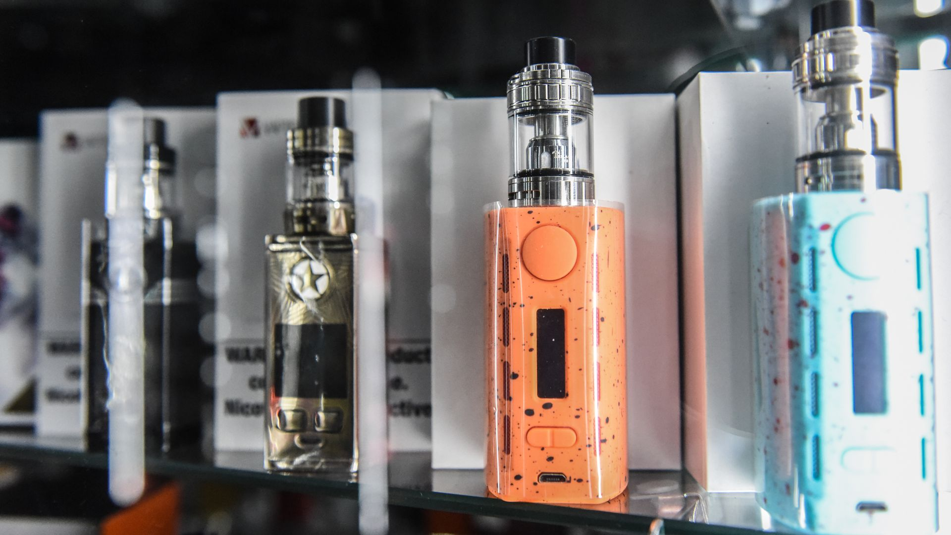 Vaping and e-cigarette products