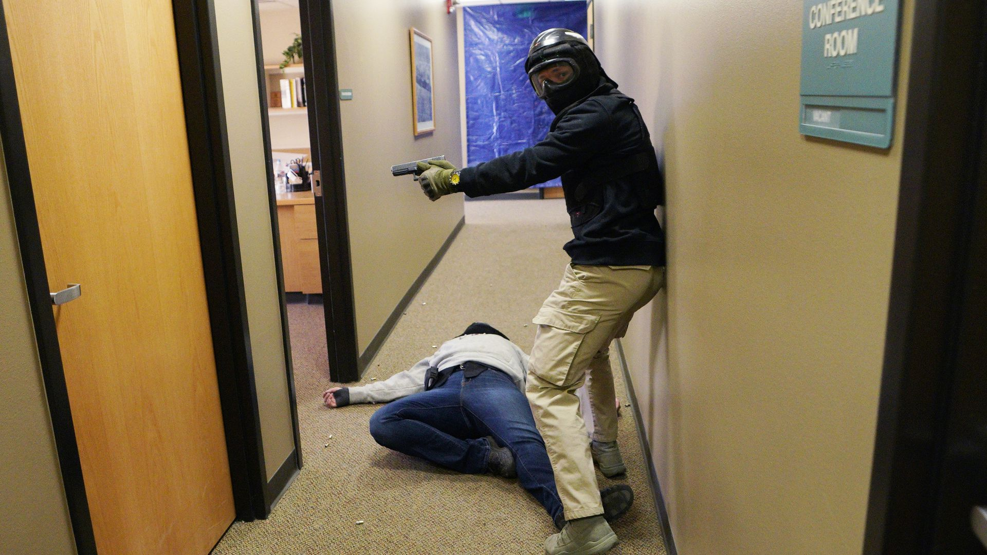 Active shooter training in Colorado.