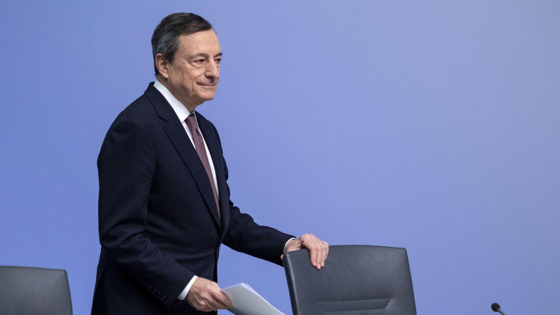 European Central Bank re-ups negative interest rates