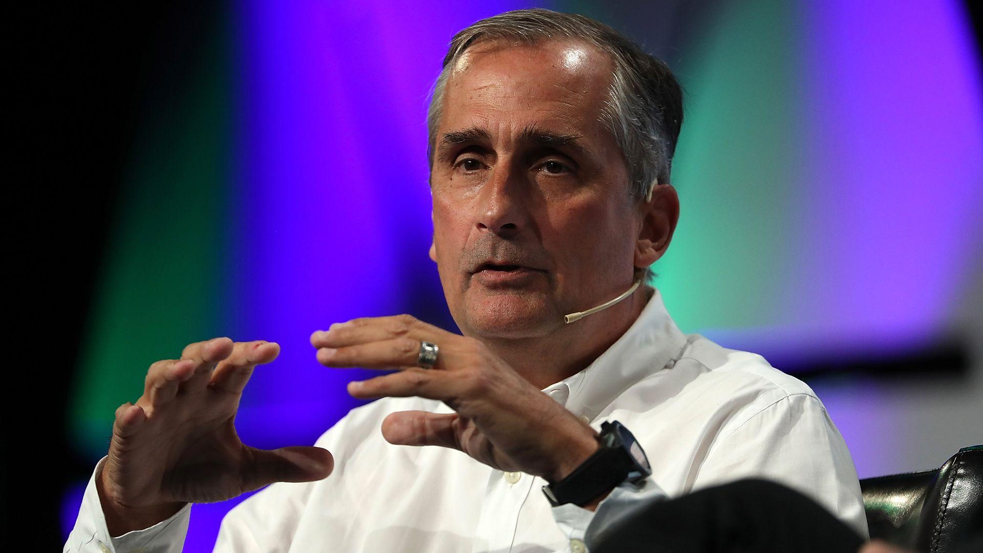 CEO Brian Krzanich