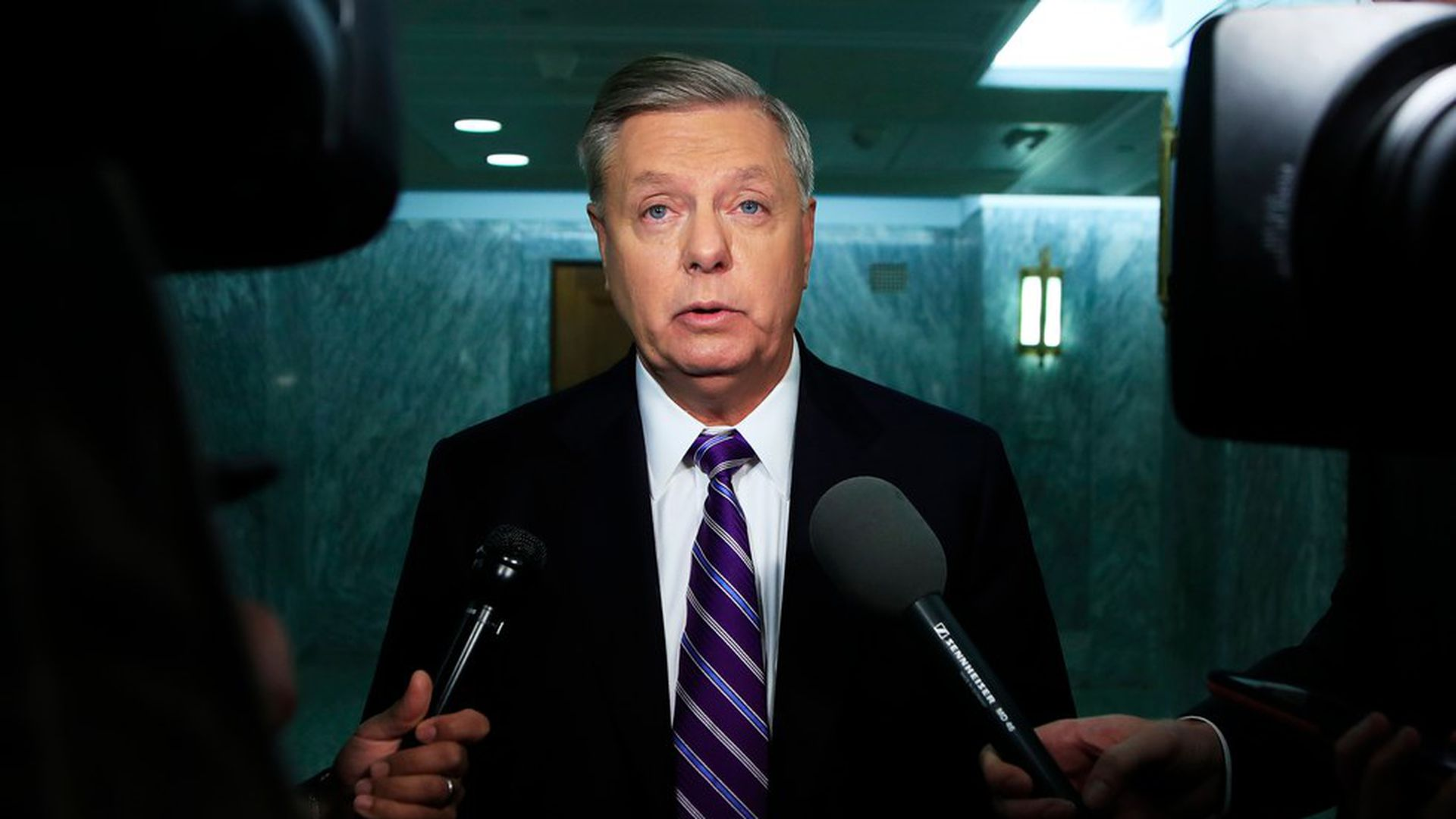 """Lindsey Graham to Breitbart: """"Bernie-Care"""" is coming - Axios"""