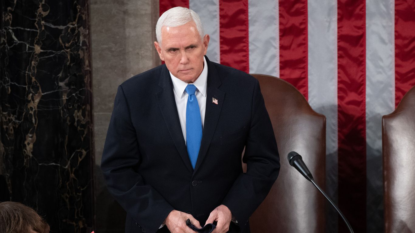 """Pence speaks to Congress after mob stormed Capitol: """"Today was a dark day"""" thumbnail"""