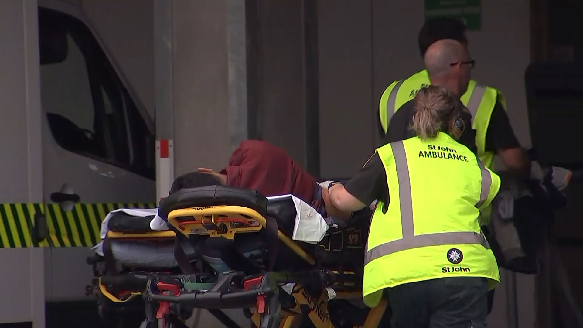 New Zealand emergency services responded to multiple casualties in the Christchurch mosque attacks.