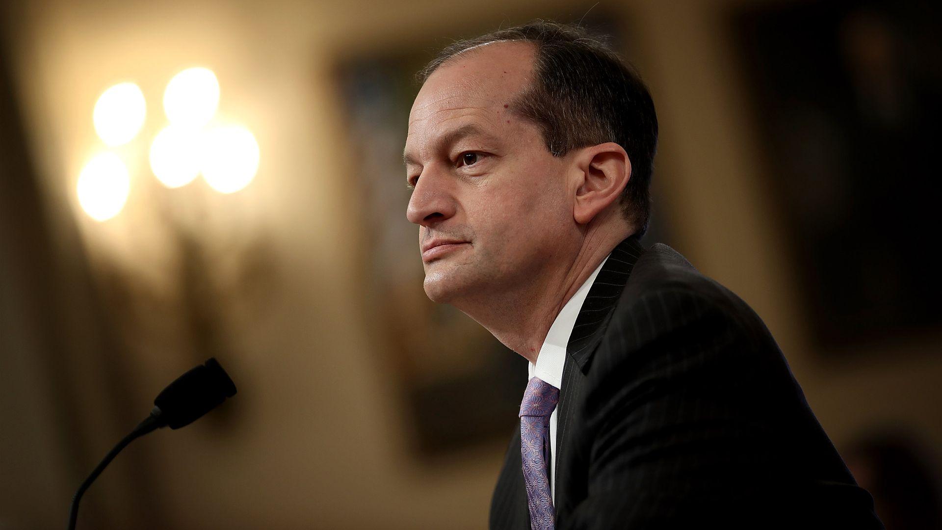 U.S. Labor Secretary Alexander Acosta