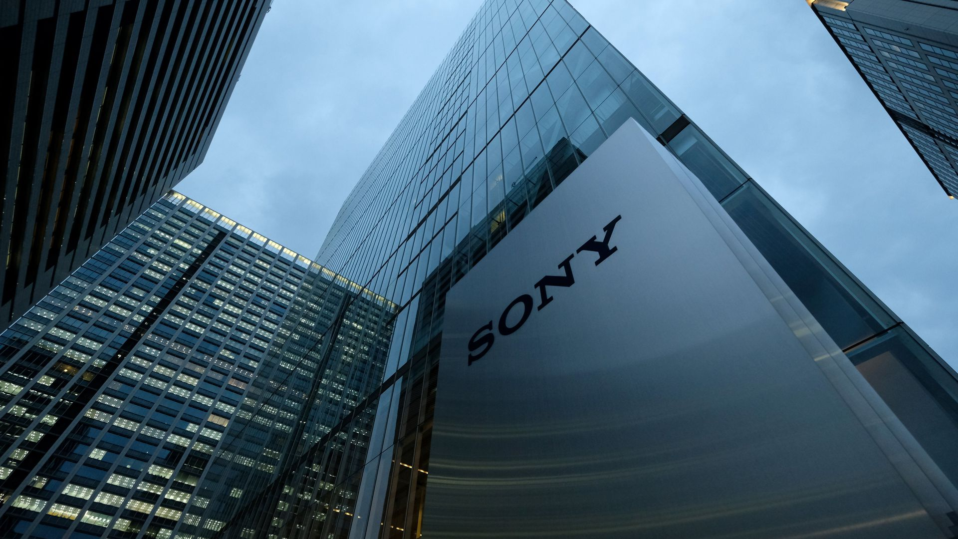 Sony Corp. headquarters in Tokyo, Japan.