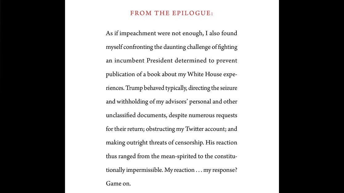 John Bolton's forthcoming book includes multiple allegations about Trump misconduct in office thumbnail