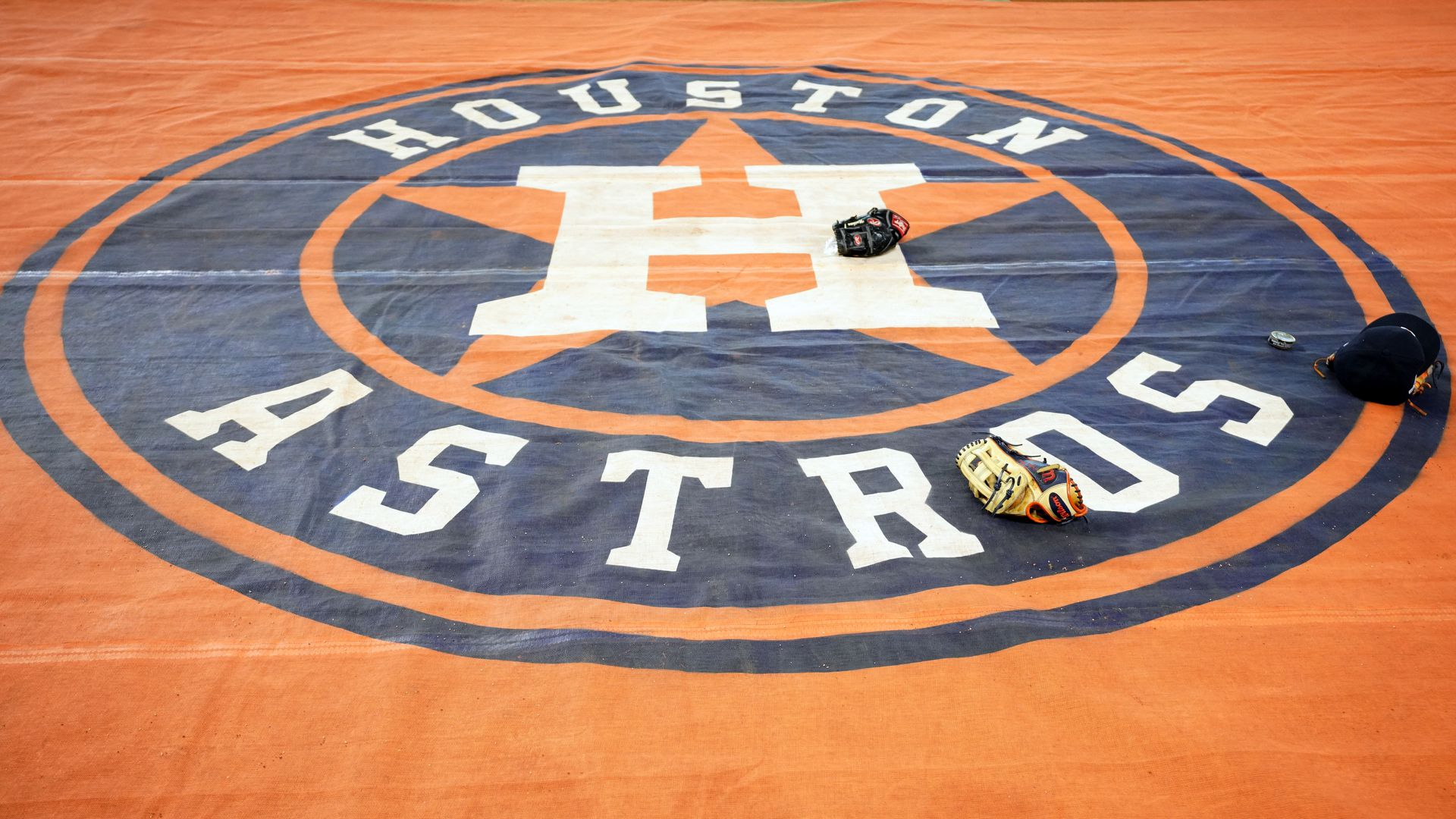 The Houston Astros' logo