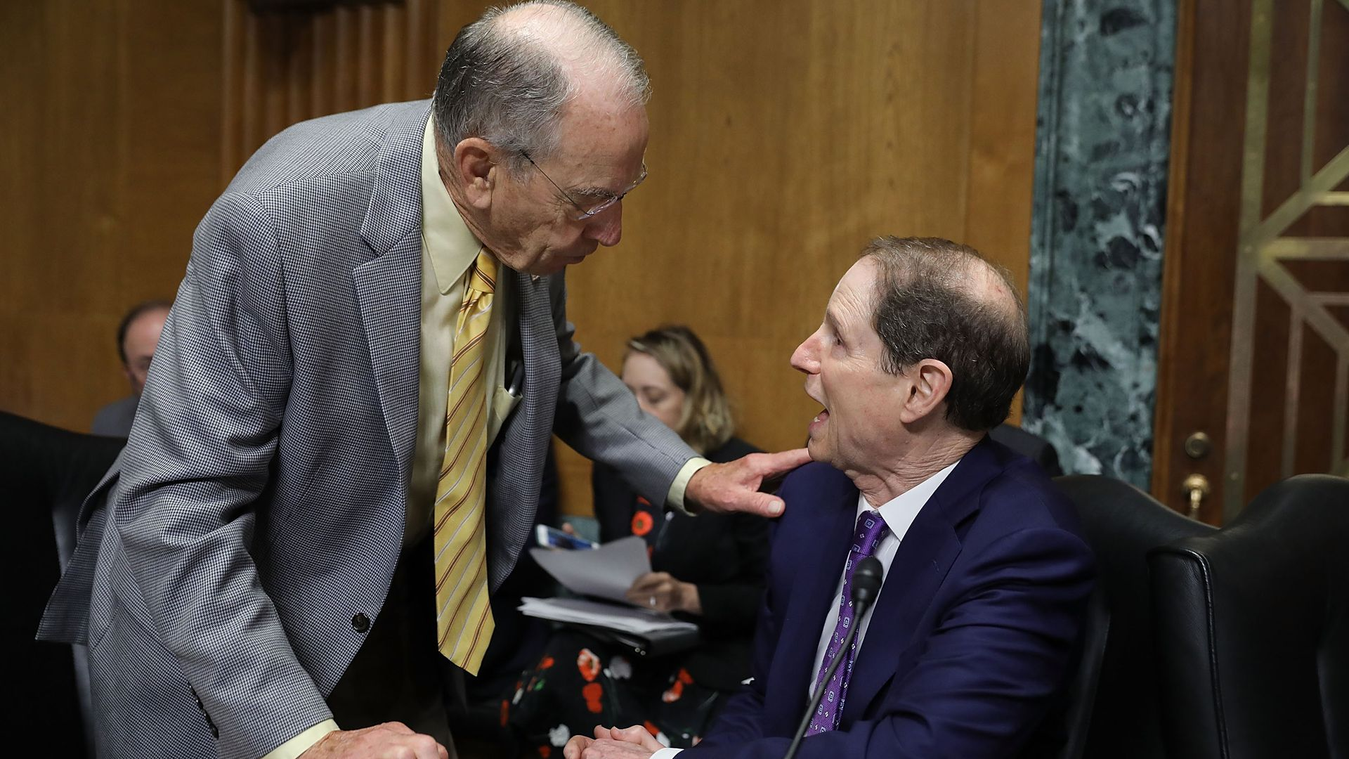 Sens. Chuck Grassley and Ron Wyden
