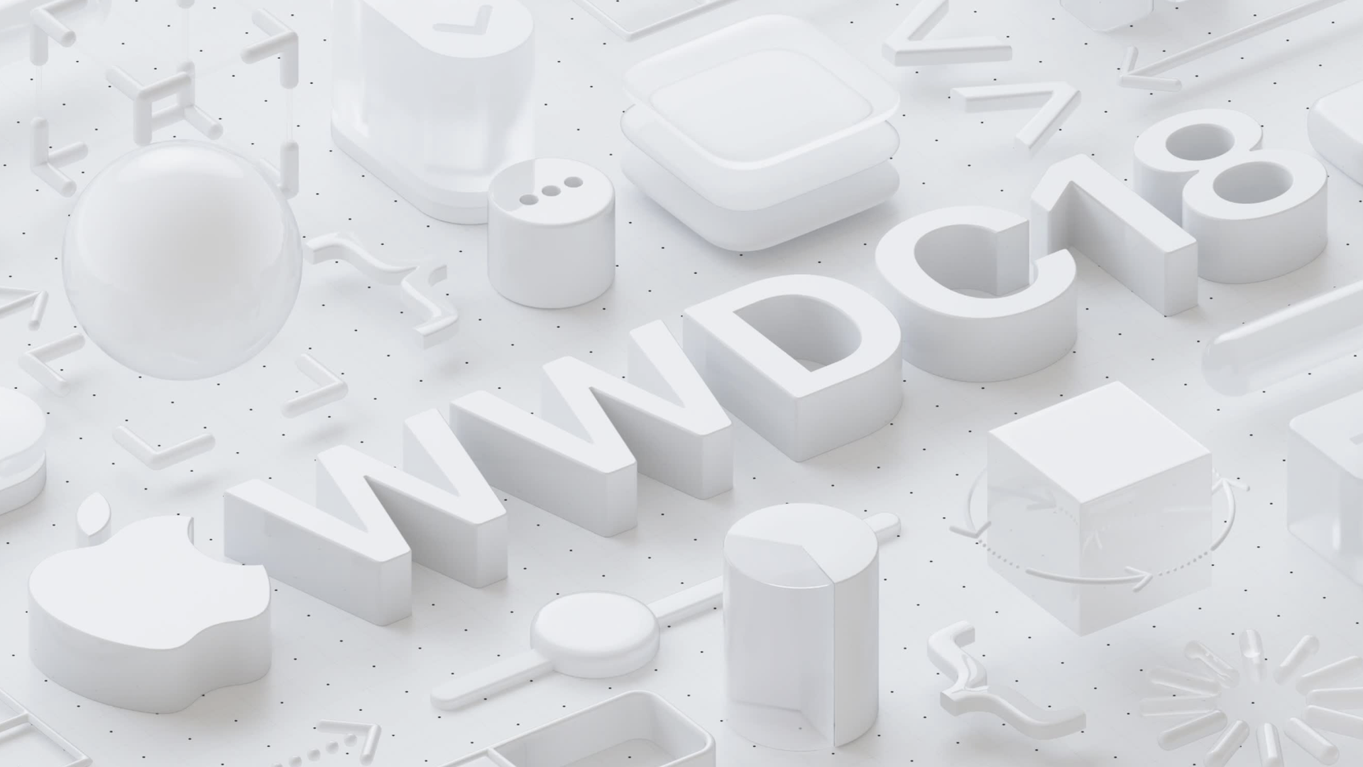 Screenshot of Apple's WWDC logo