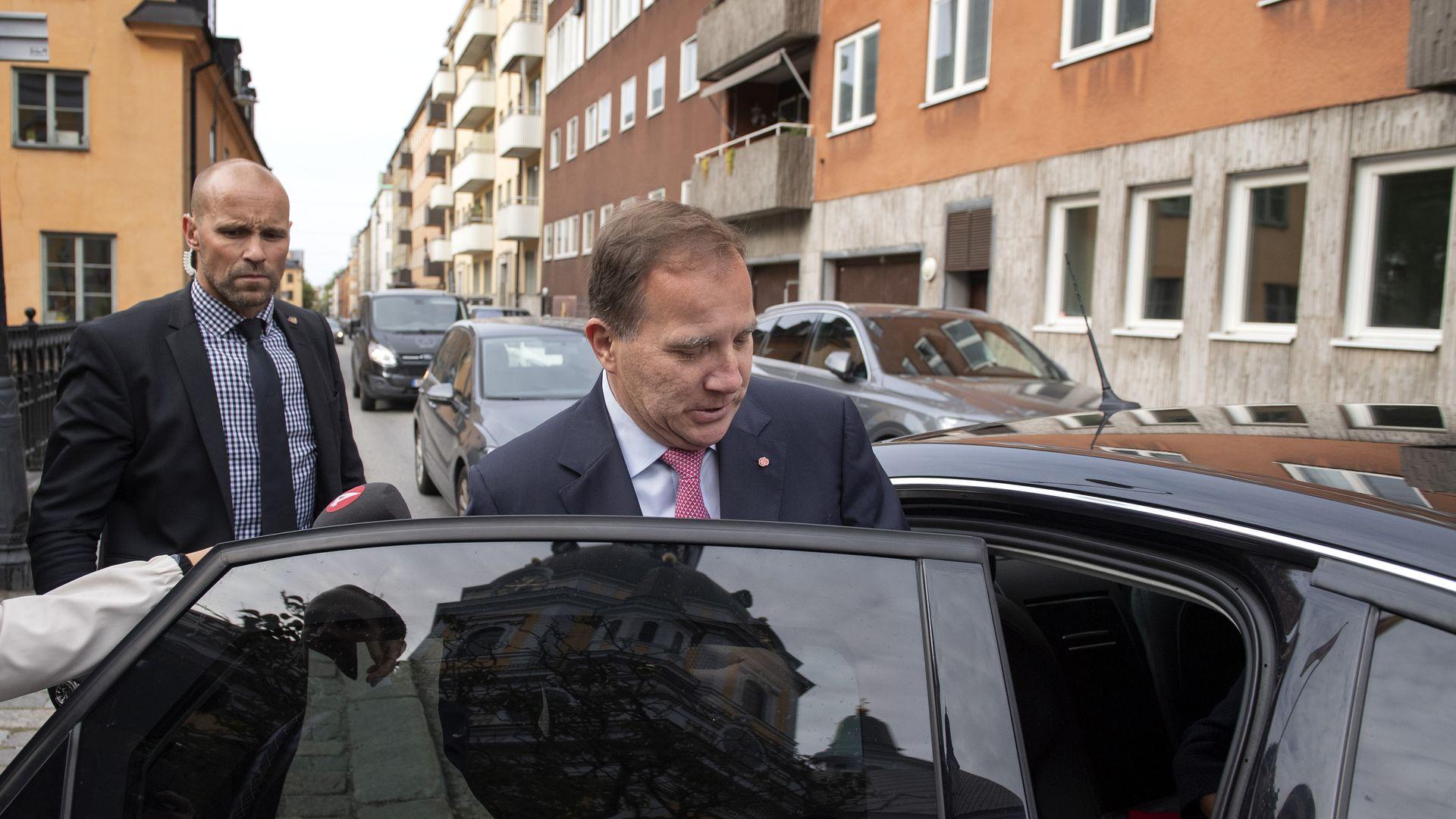 Swedish PM Stefan Löfven