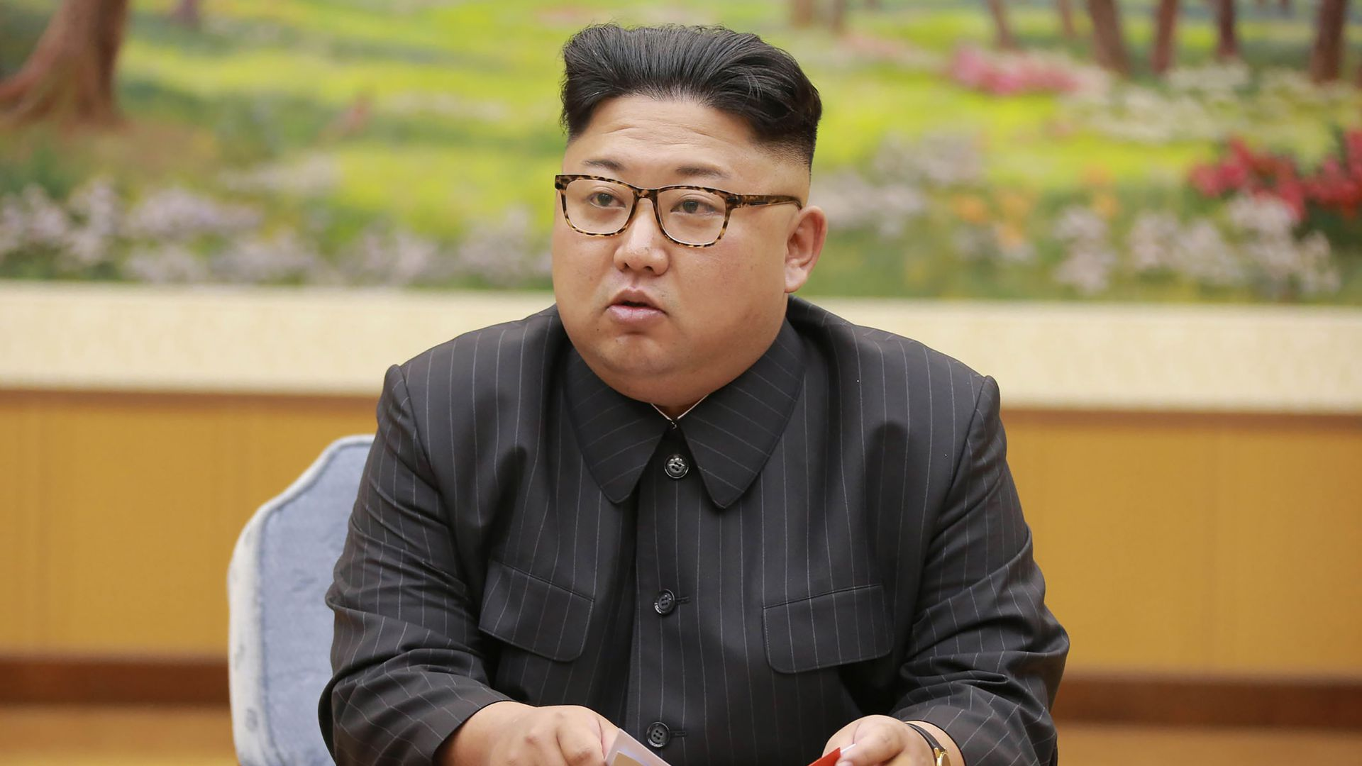 North Korean leader Kim Jong-Un Photo: STR/AFP/Getty Images