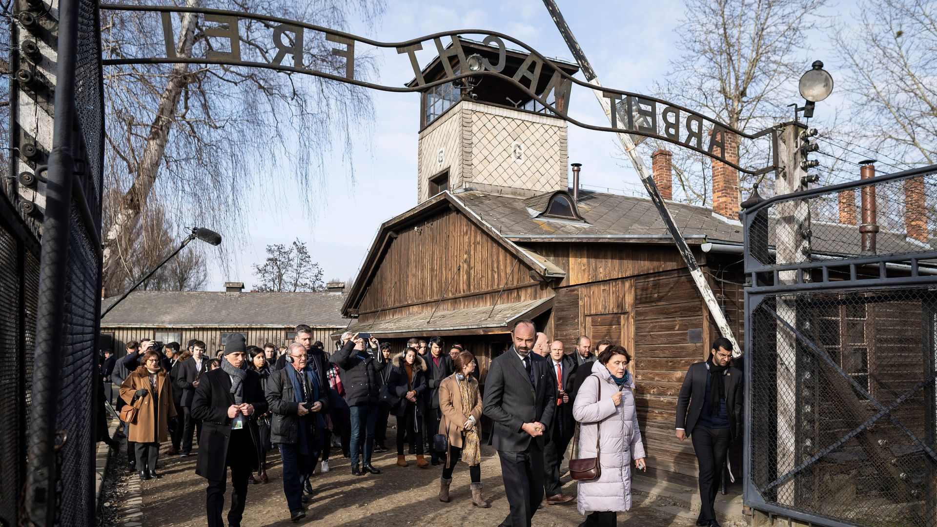 Photos: Holocaust survivors join at Auschwitz to commemorate 75th anniversary of liberation