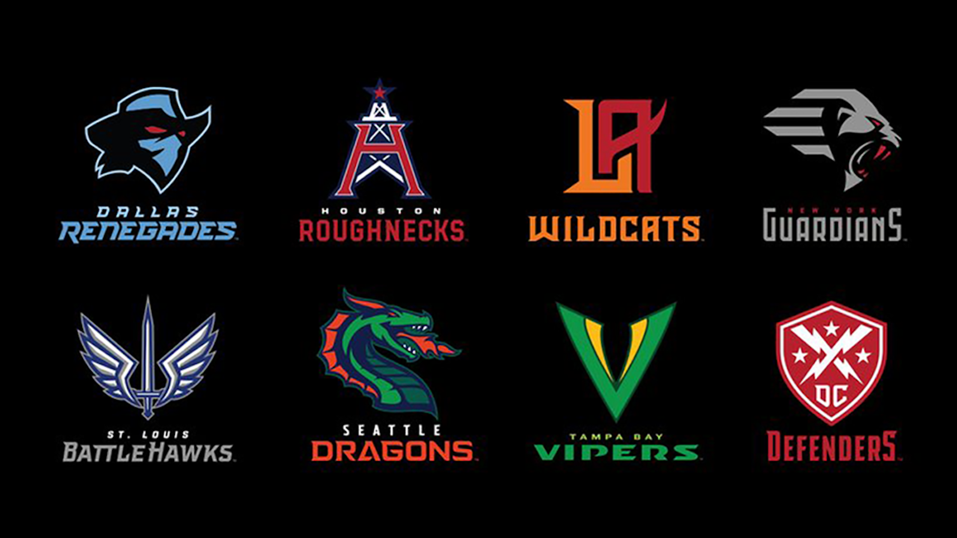 XFL 2.0 unveils teams and logos