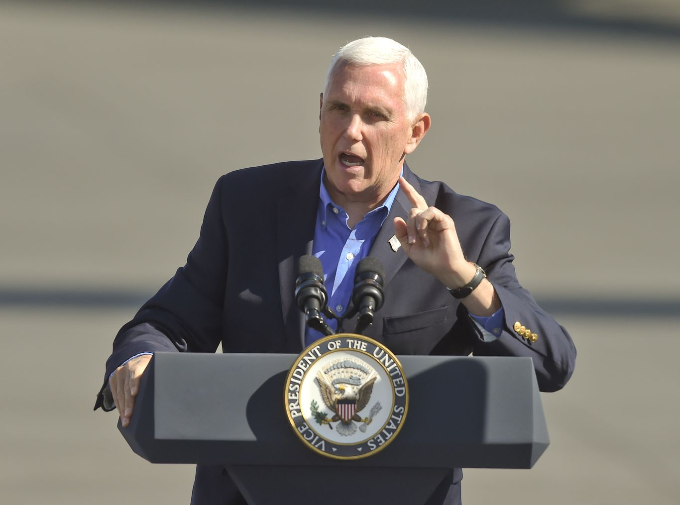 Pence no longer expected at Amy Coney Barrett's final confirmation vote thumbnail