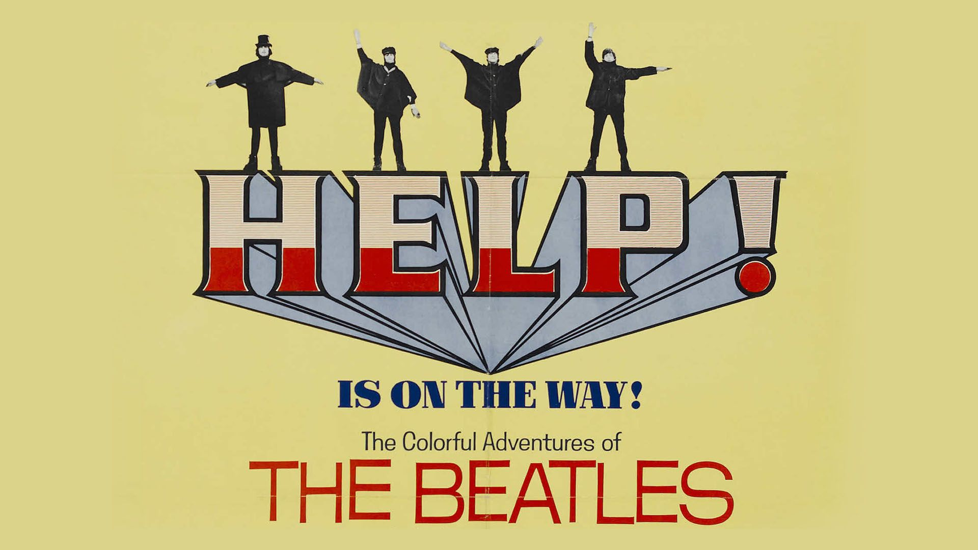 Poster for the film 'Help'