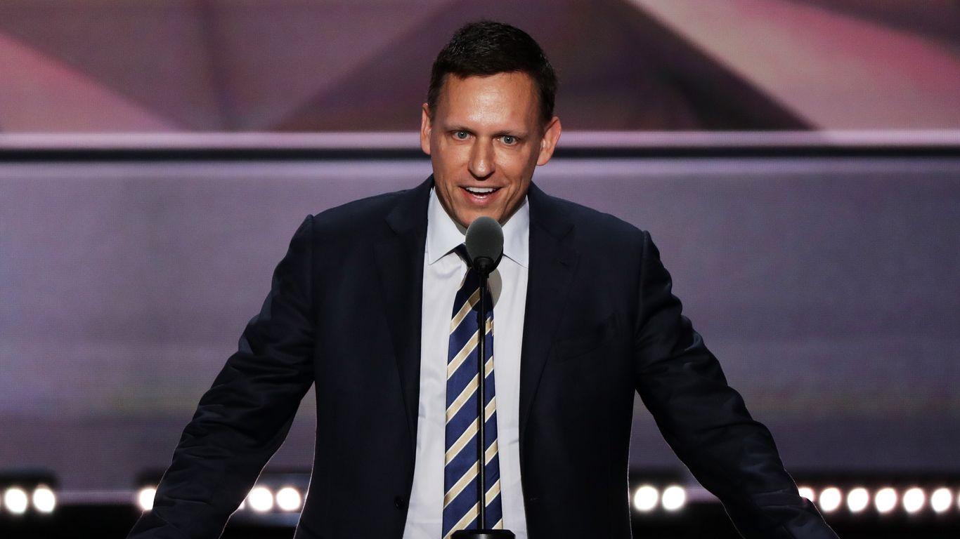 Facebook director Peter Thiel says FBI, CIA should probe Google