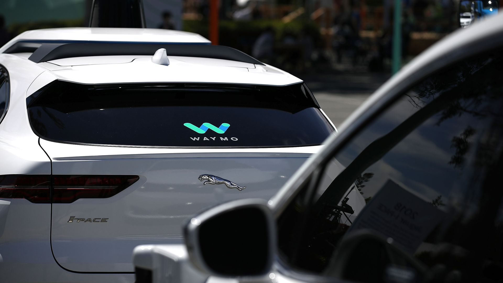 Waymo self-driving SUV