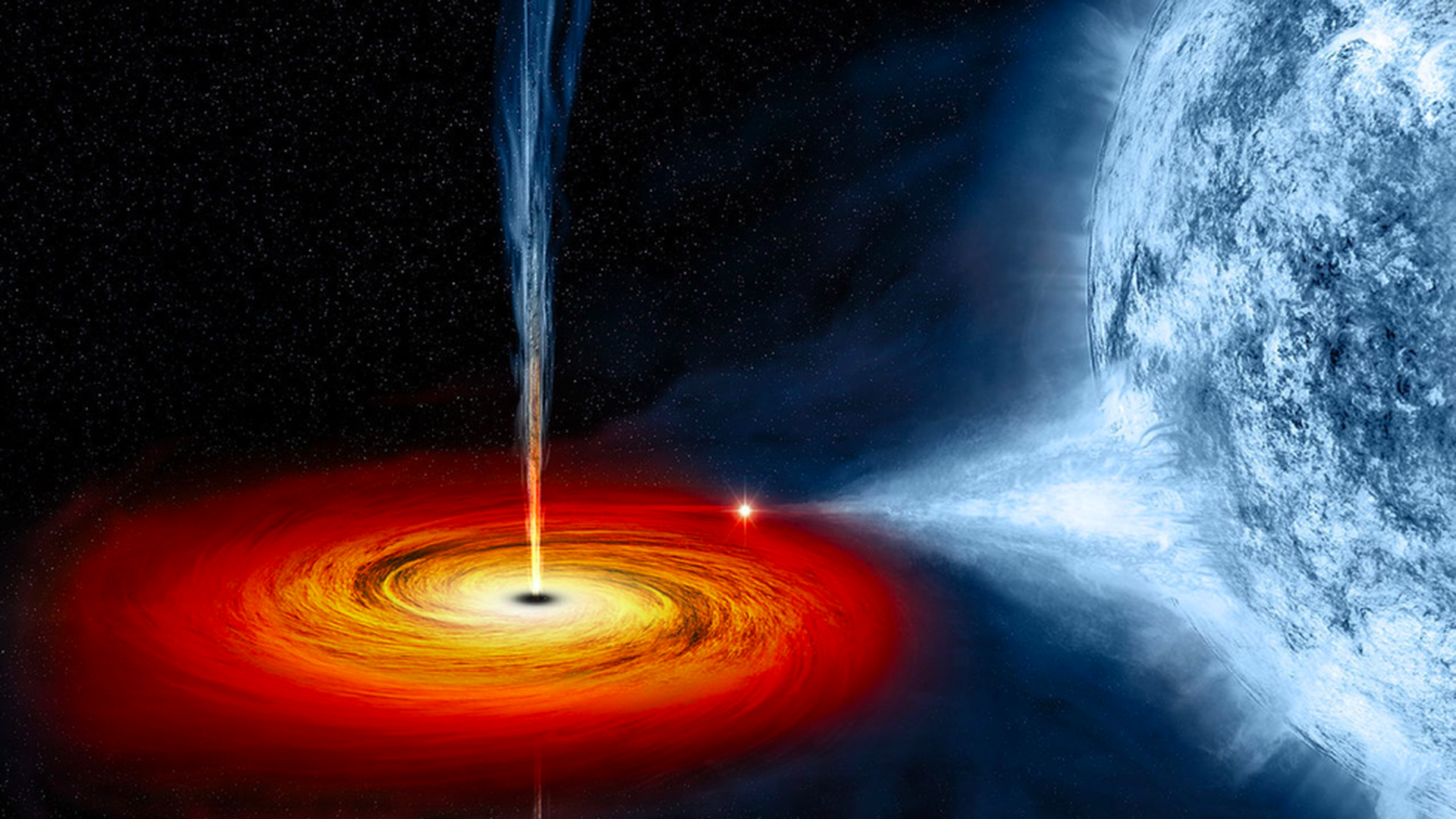 Humanity might soon get its first look at a black hole - Axios