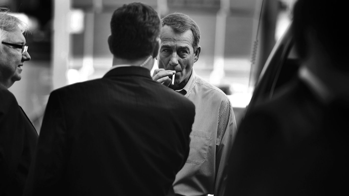 "Boehner goes off script, tells Cruz to ""go f**k yourself"""