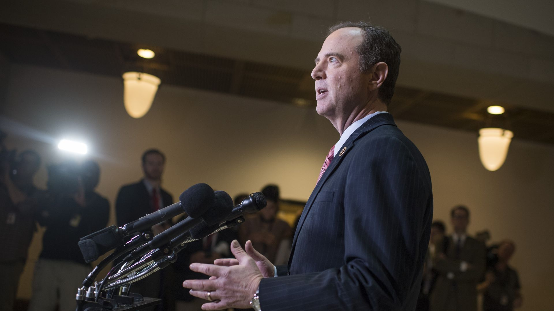 Rep. Adam Schiff, D-Calif., ranking member of the House Intelligence Committee.