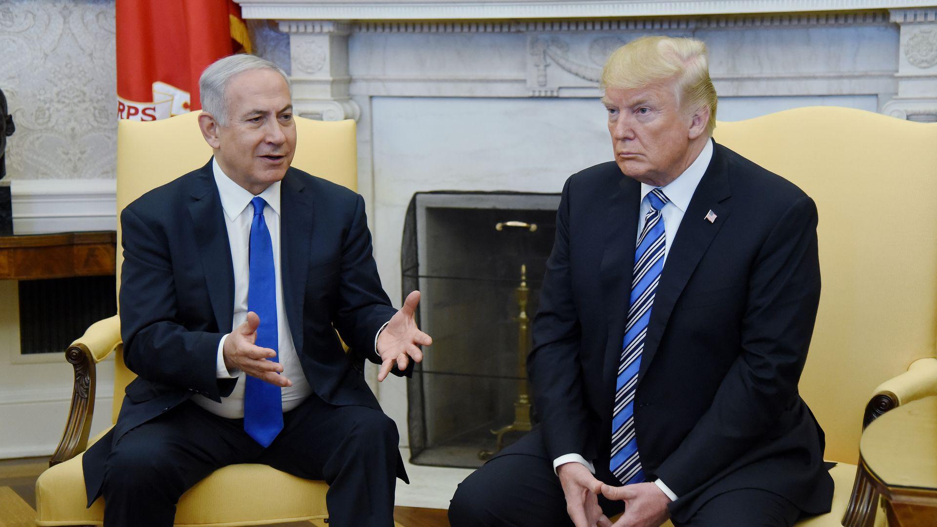Trump, Netanyahu