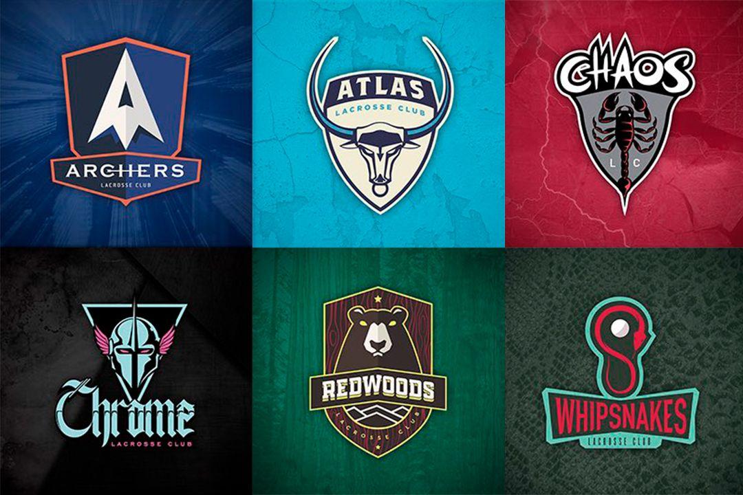 Premier Lacrosse team logos