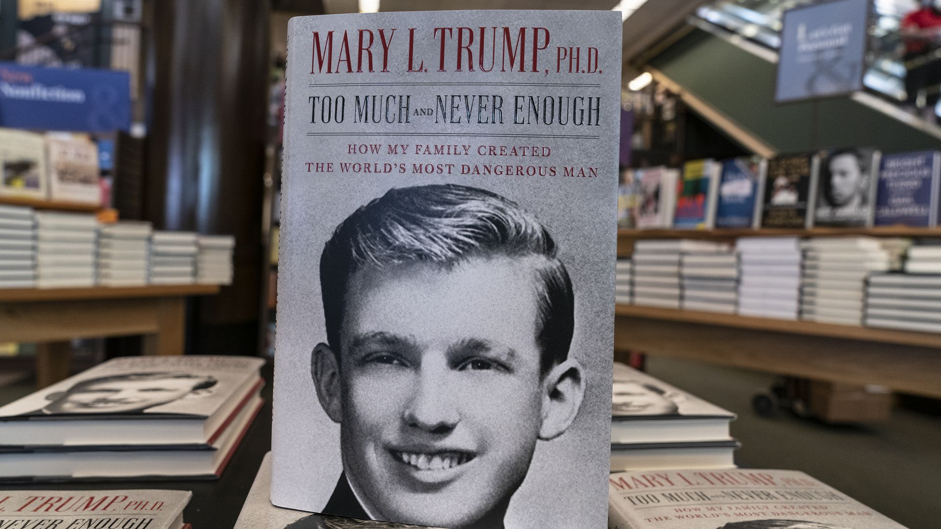Mary Trump Claims In Lawsuit That The President And His Siblings Swindled Her Inheritance Axios
