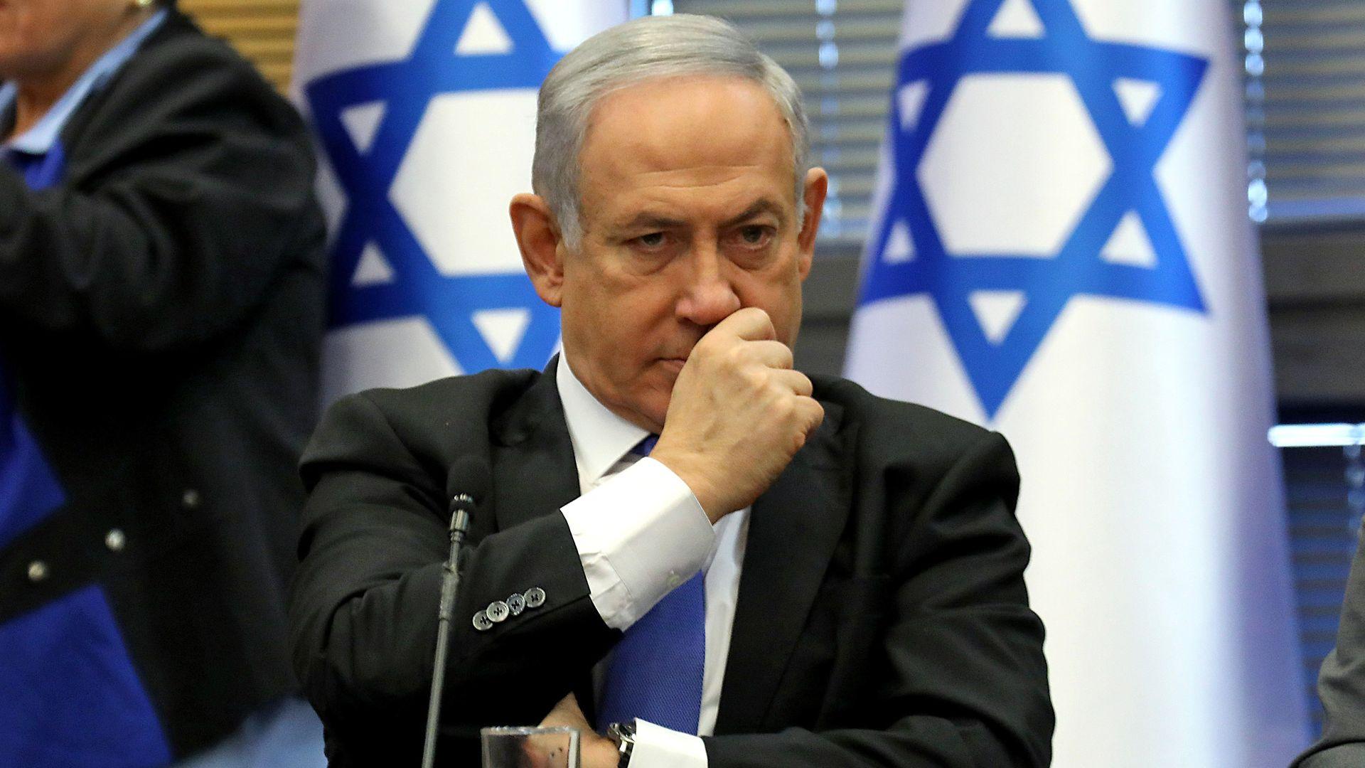 Benjamin Netanyahu's bad day