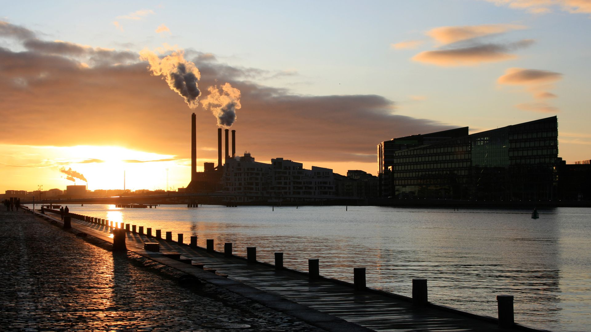 Ørsted Power Station, situated at Sydhavnen in Copenhagen
