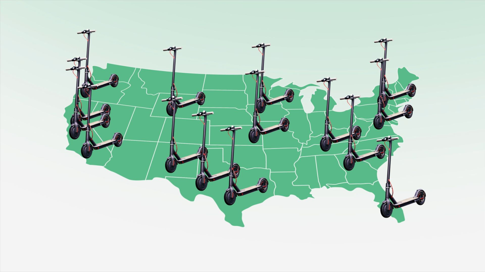 The next big fad: electric scooters on demand