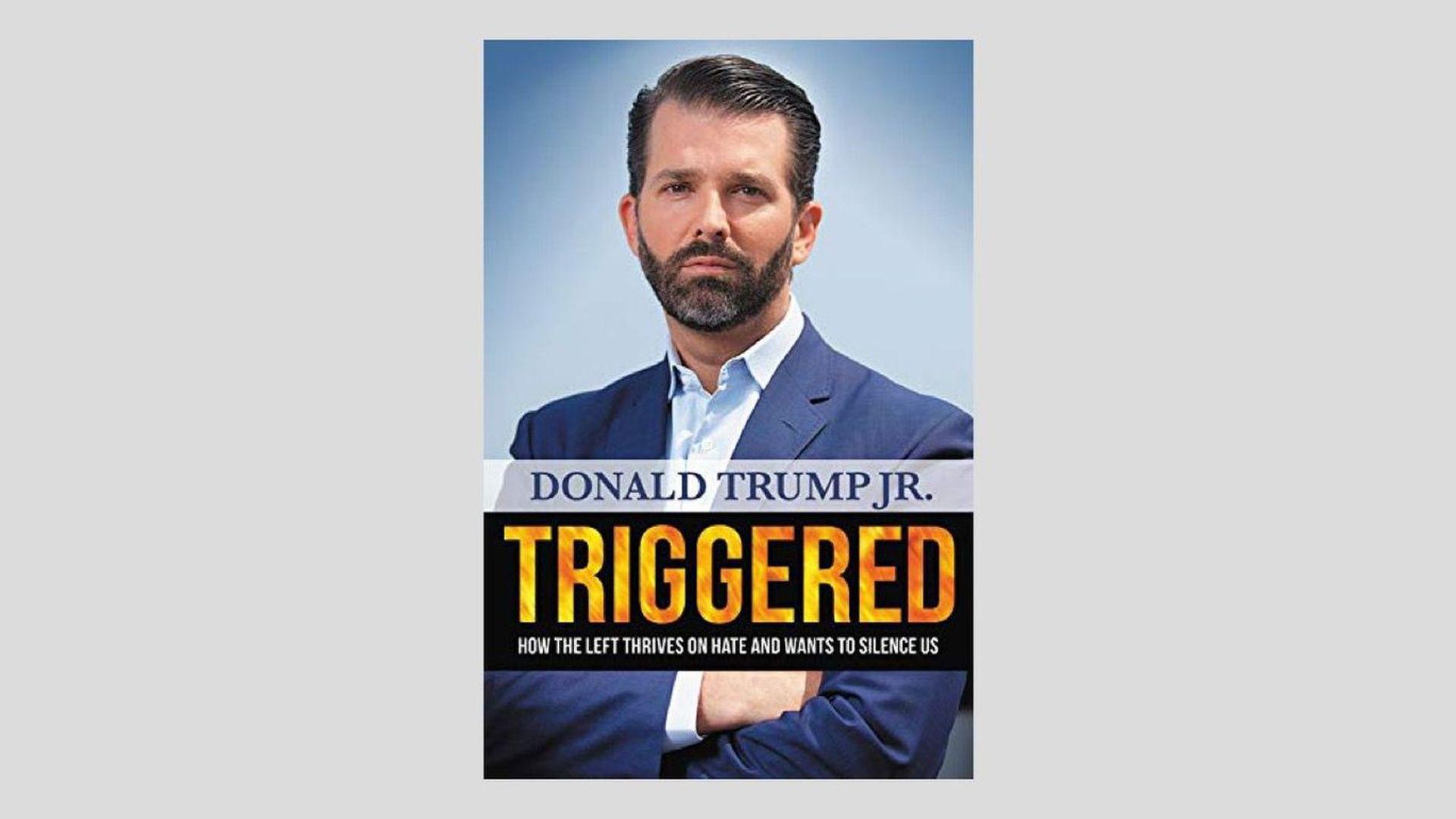 "Donald Trump Jr.'s ""Triggered"" debuts at No. 1 on NYT bestseller list"