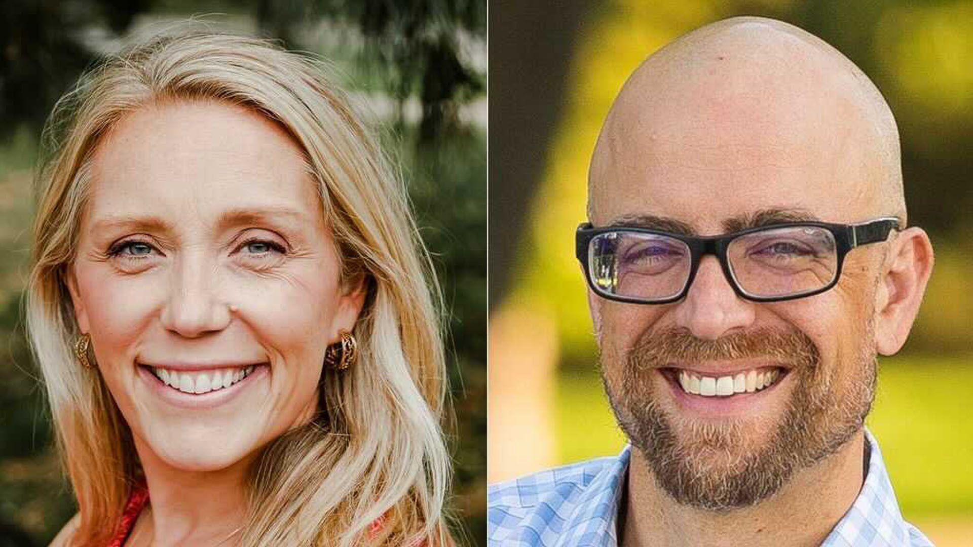 Emily Koski and Jeremy Schroeder