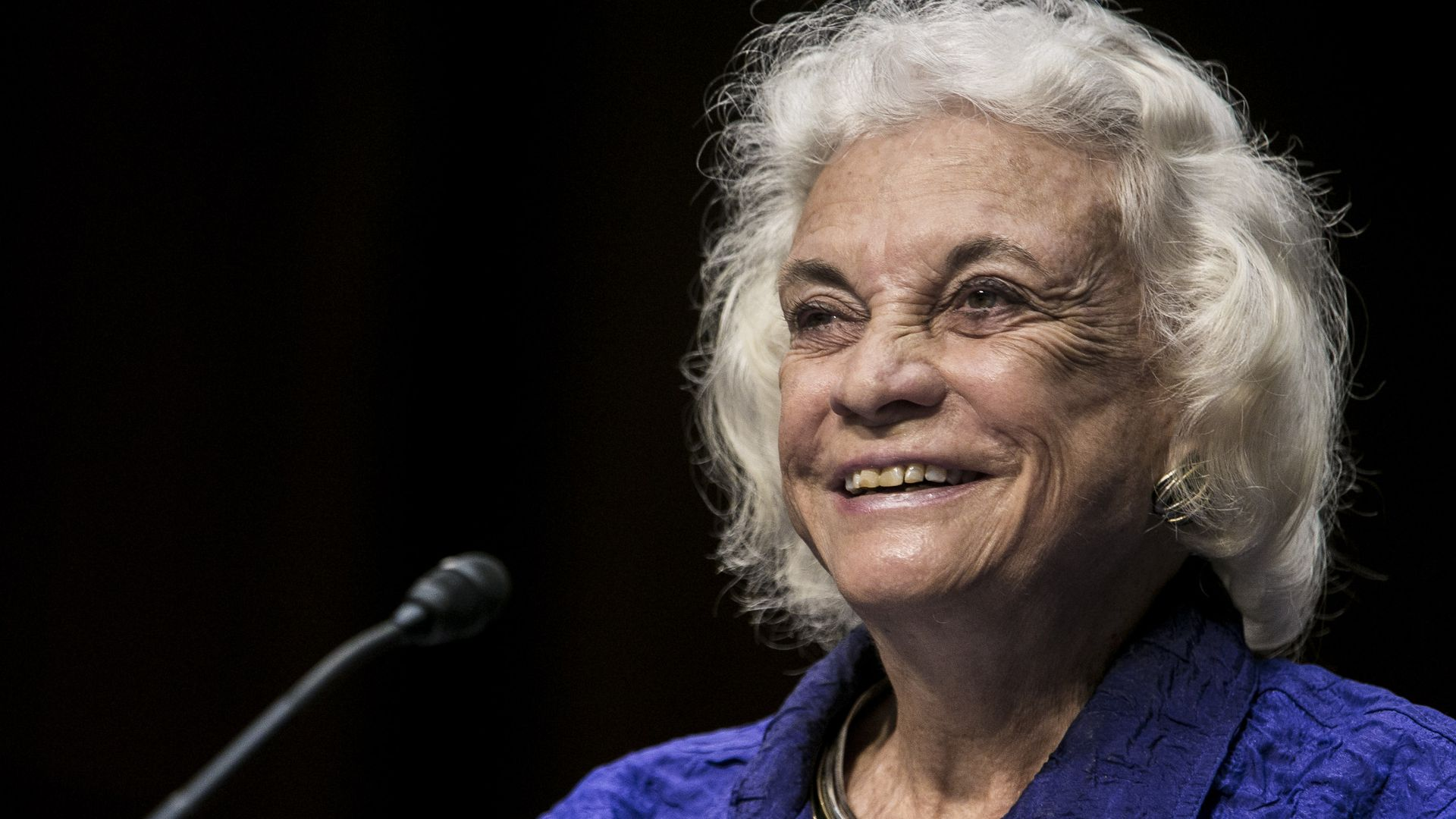 Former Justice Sandra Day O'Connor.