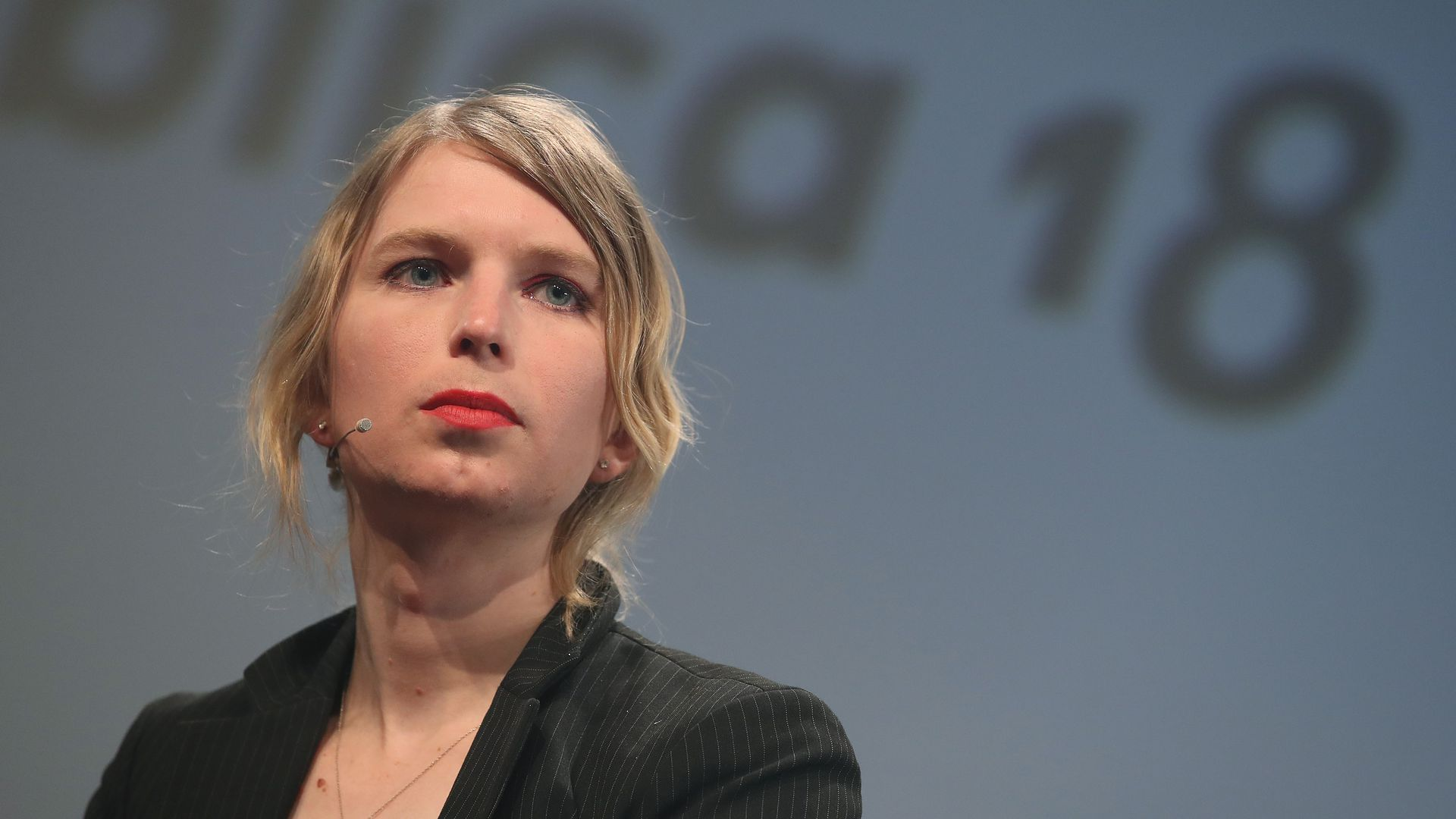 former US Army intelligence analyst, Chelsea Manning
