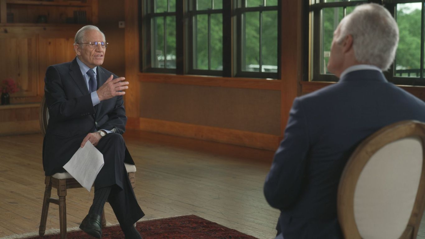Why Trump talked to Woodward thumbnail
