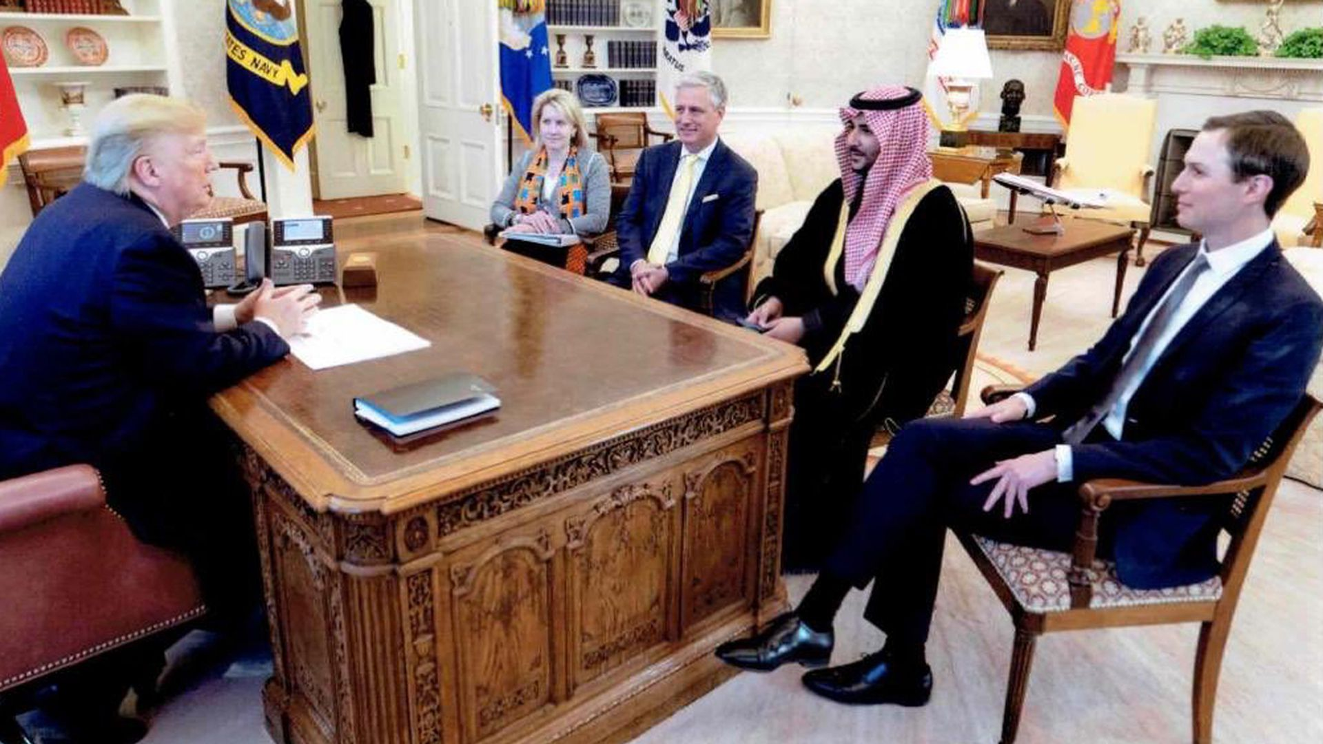 Saudi envoy met with Trump, shared message on Iran from crown prince