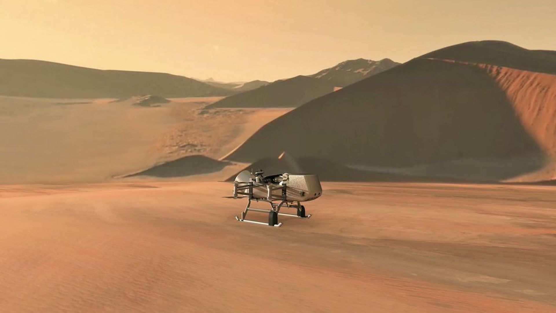 How NASA's Dragonfly mission will explore Saturn's largest