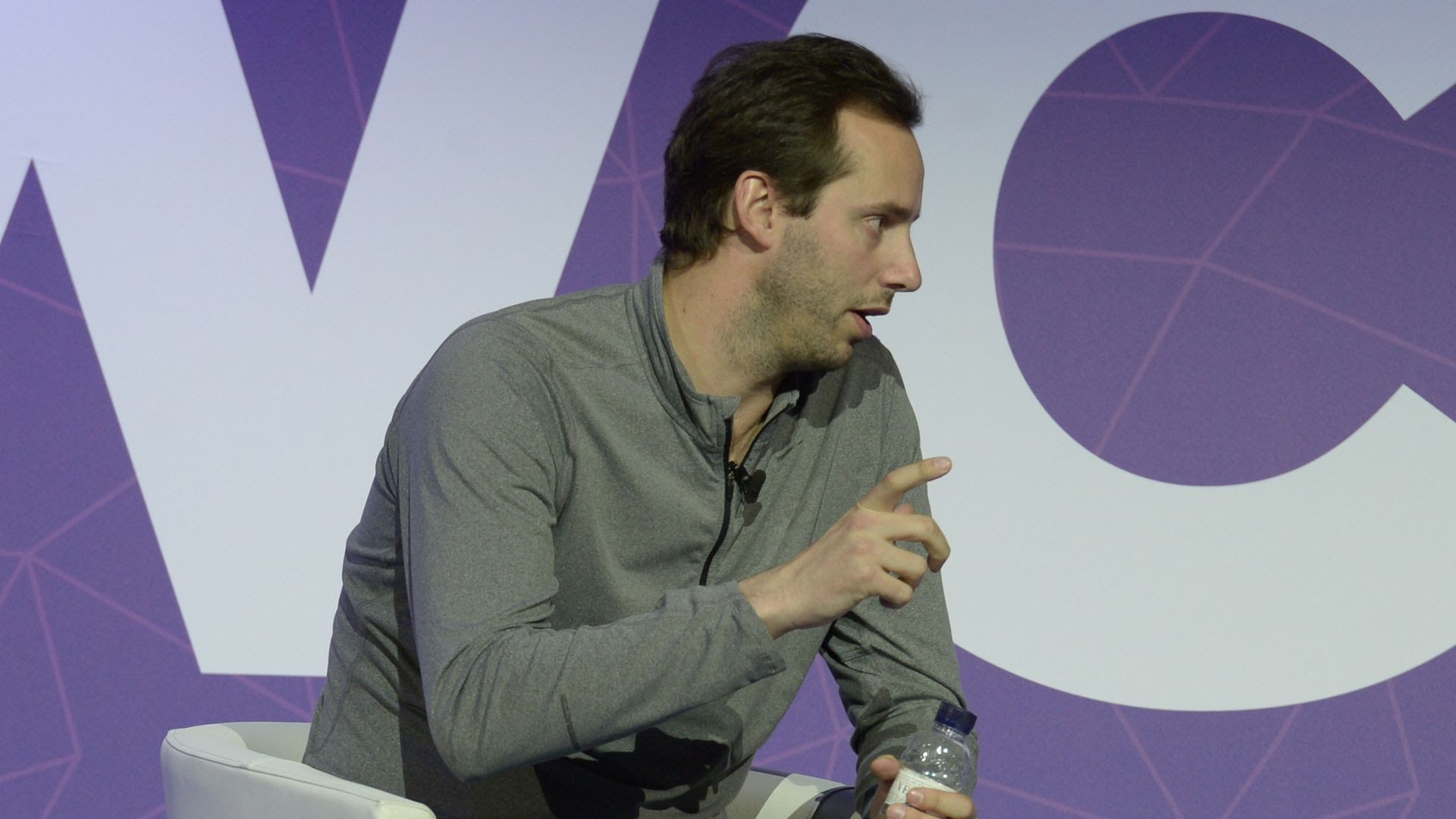 Anthony Levandowski, at the Mobile World Congress in February 2017.
