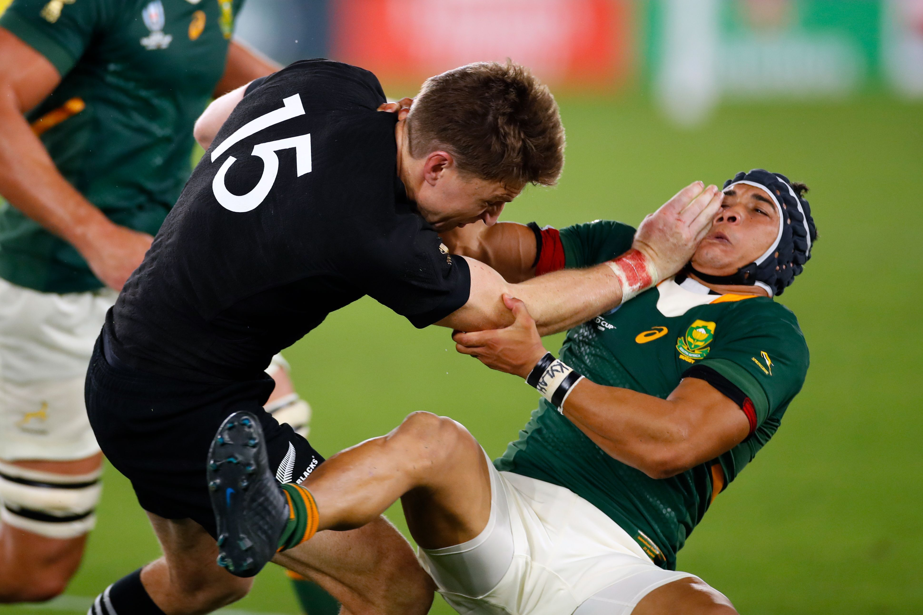 Rugby World Cup action