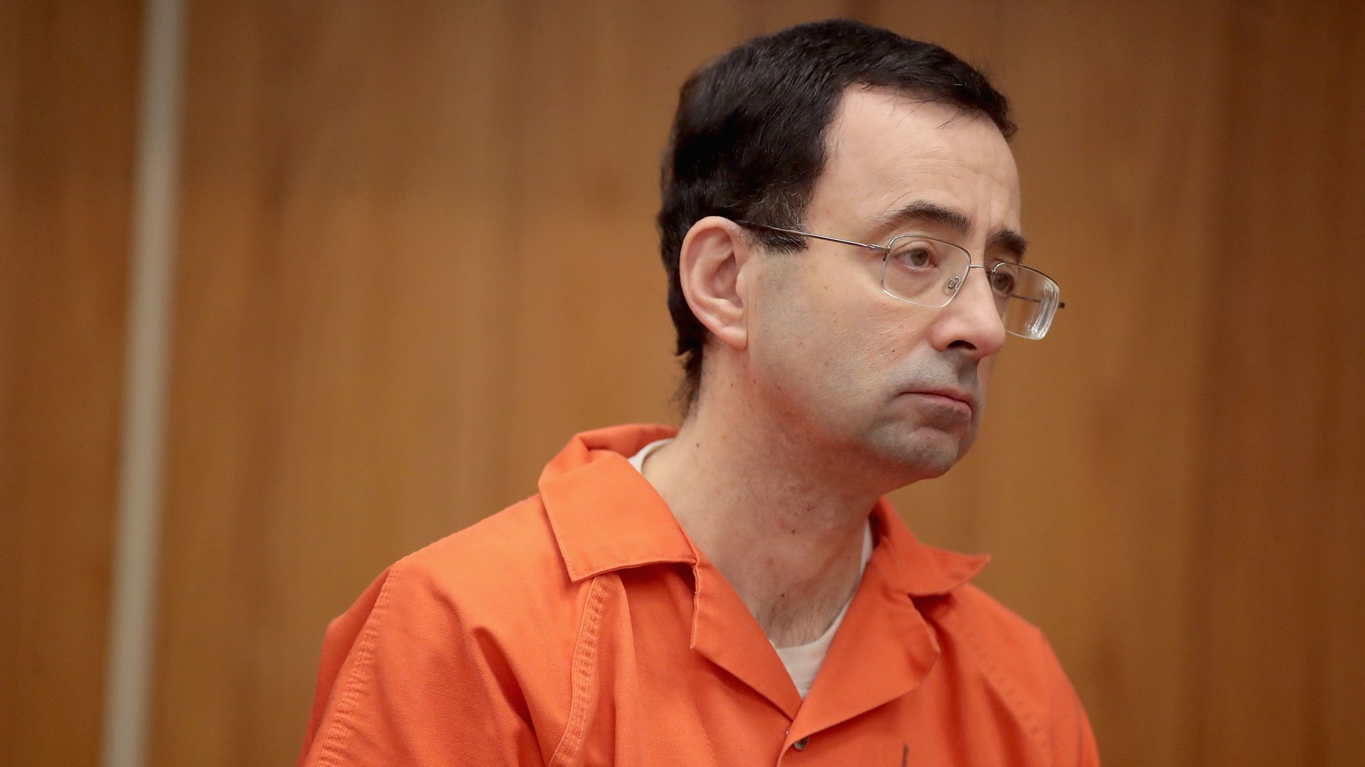 Larry Nassar on trial