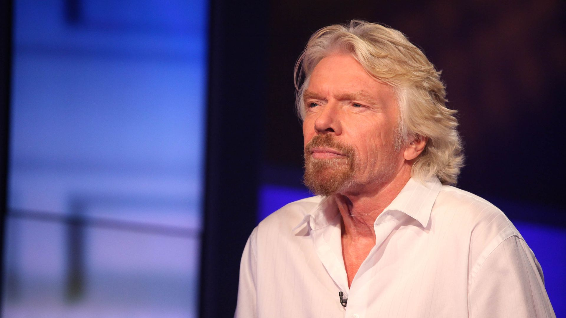Virgin Atlantic founder Richard Branson