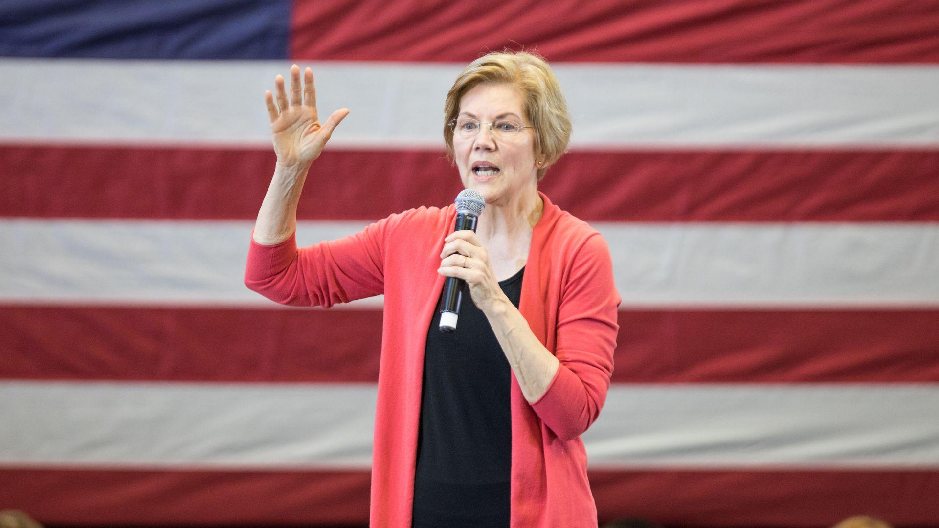 Massachusetts Democratic Sen. Elizabeth Warren.