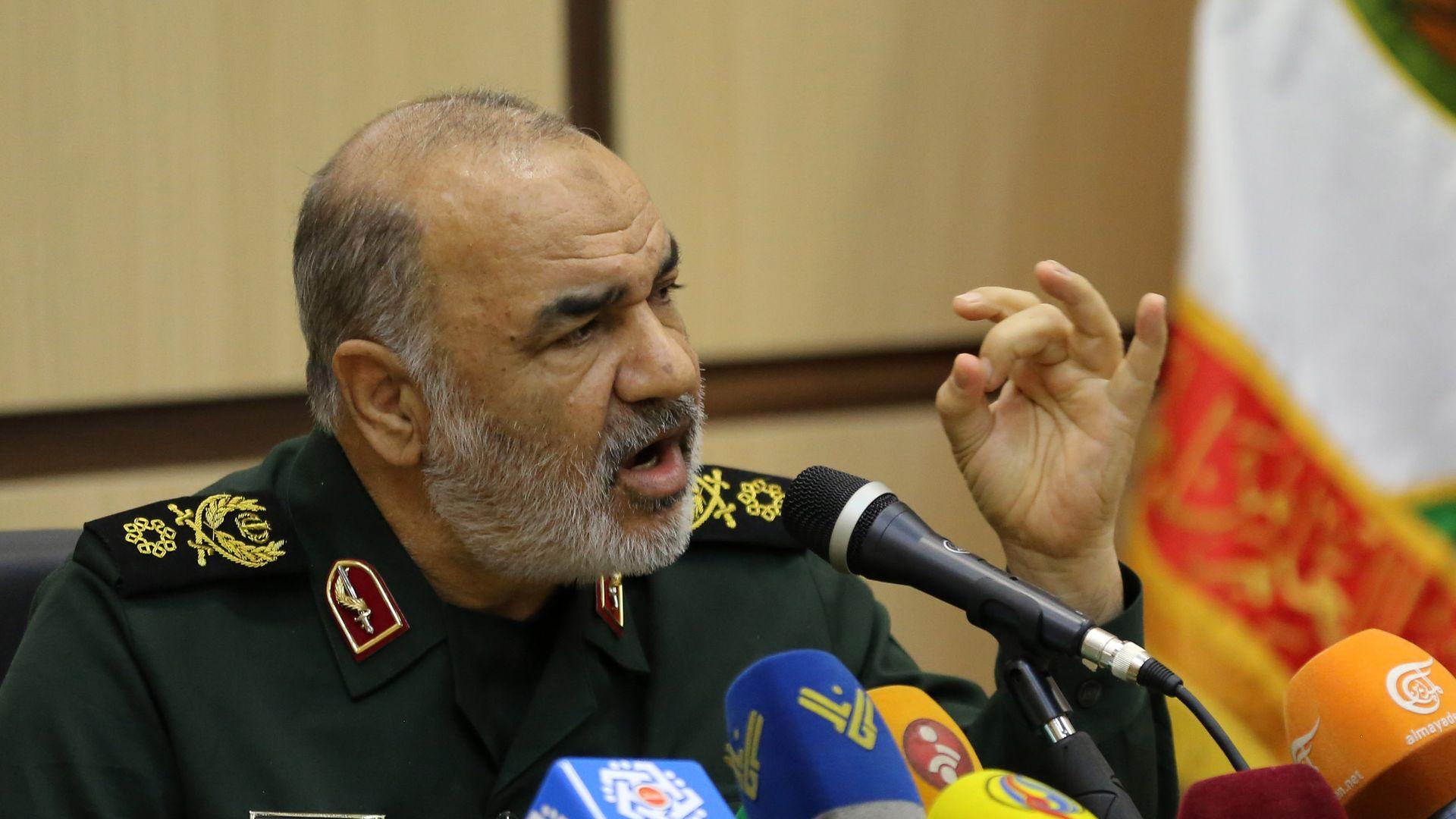 Iranian military commander