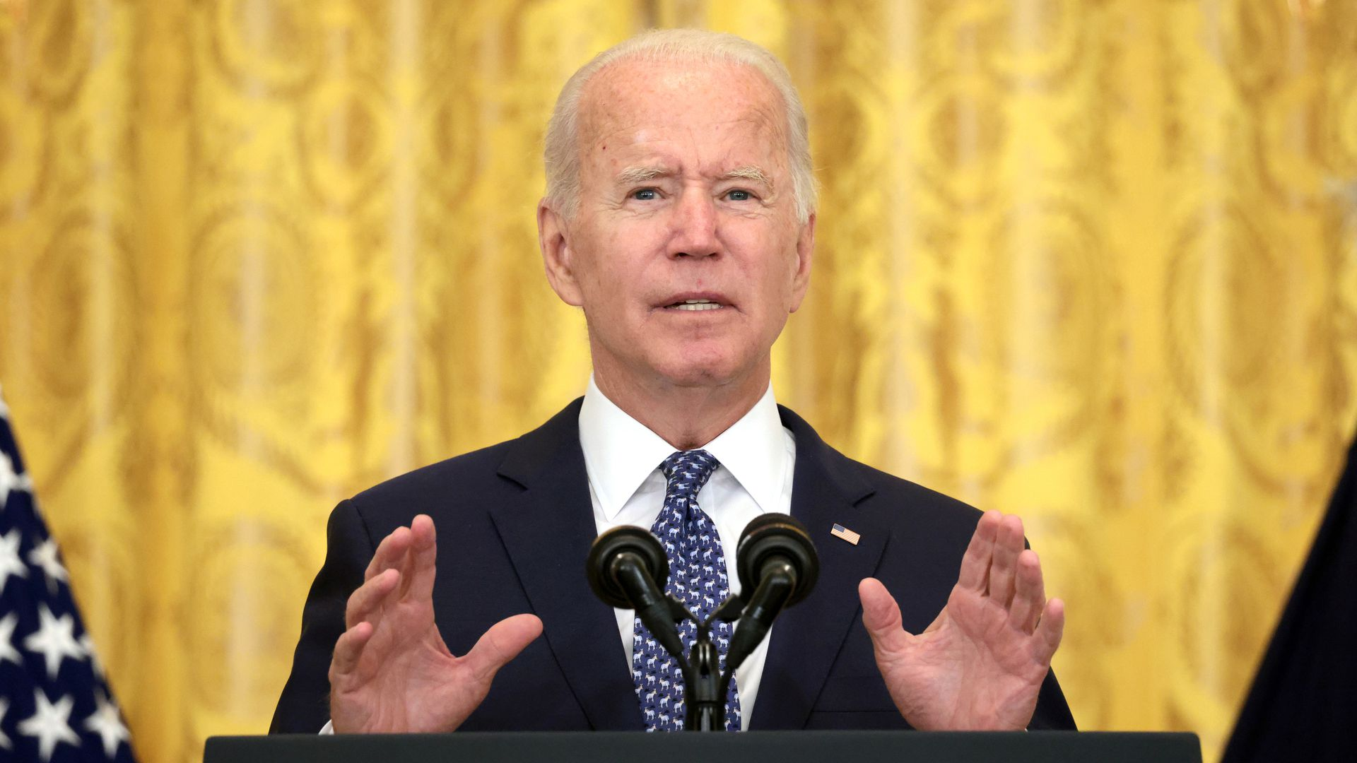 Biden to mandate COVID vaccines for federal workers, with no option for testing