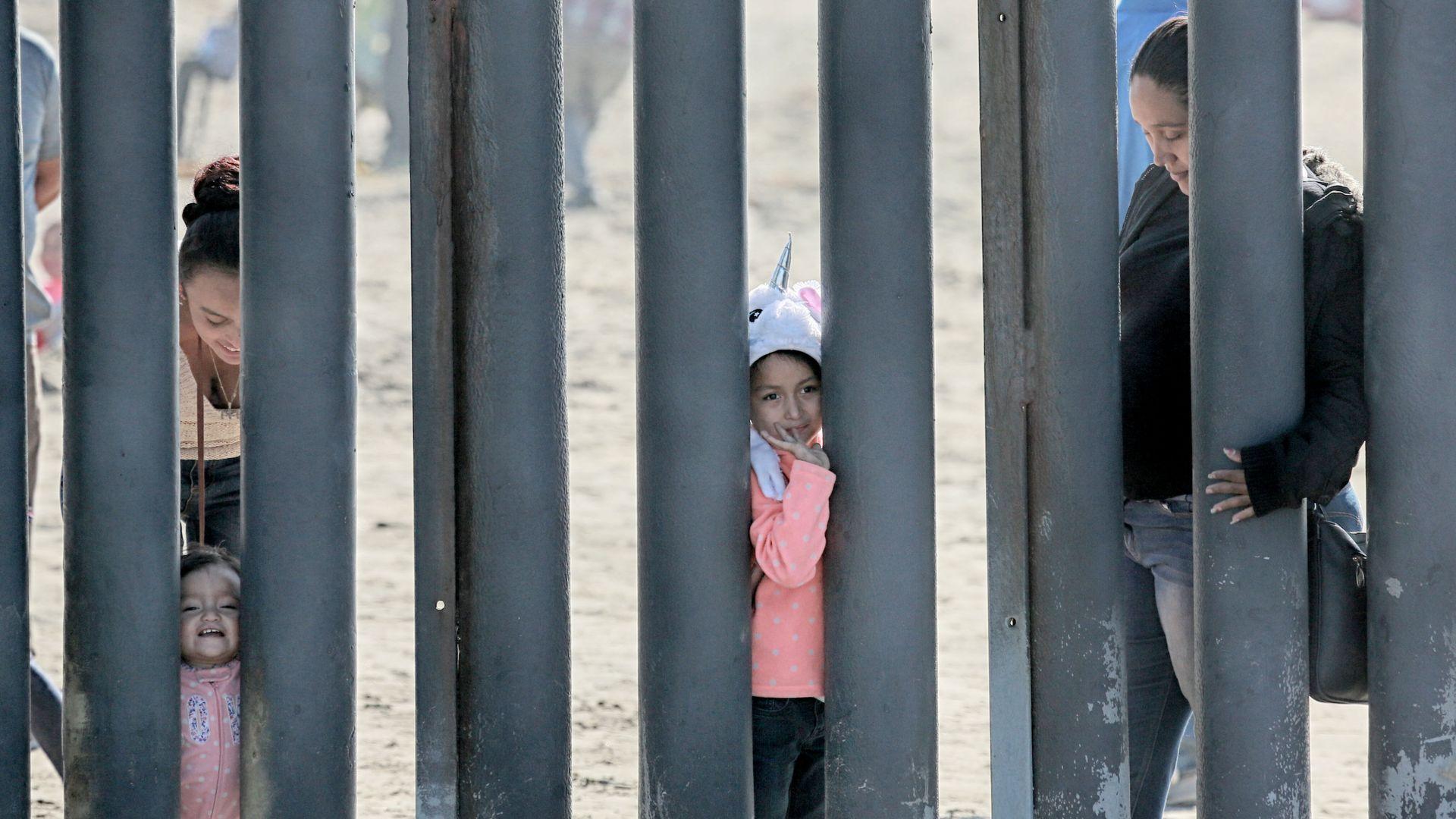 The southern border wall at Friendship park in San Ysidro, California.