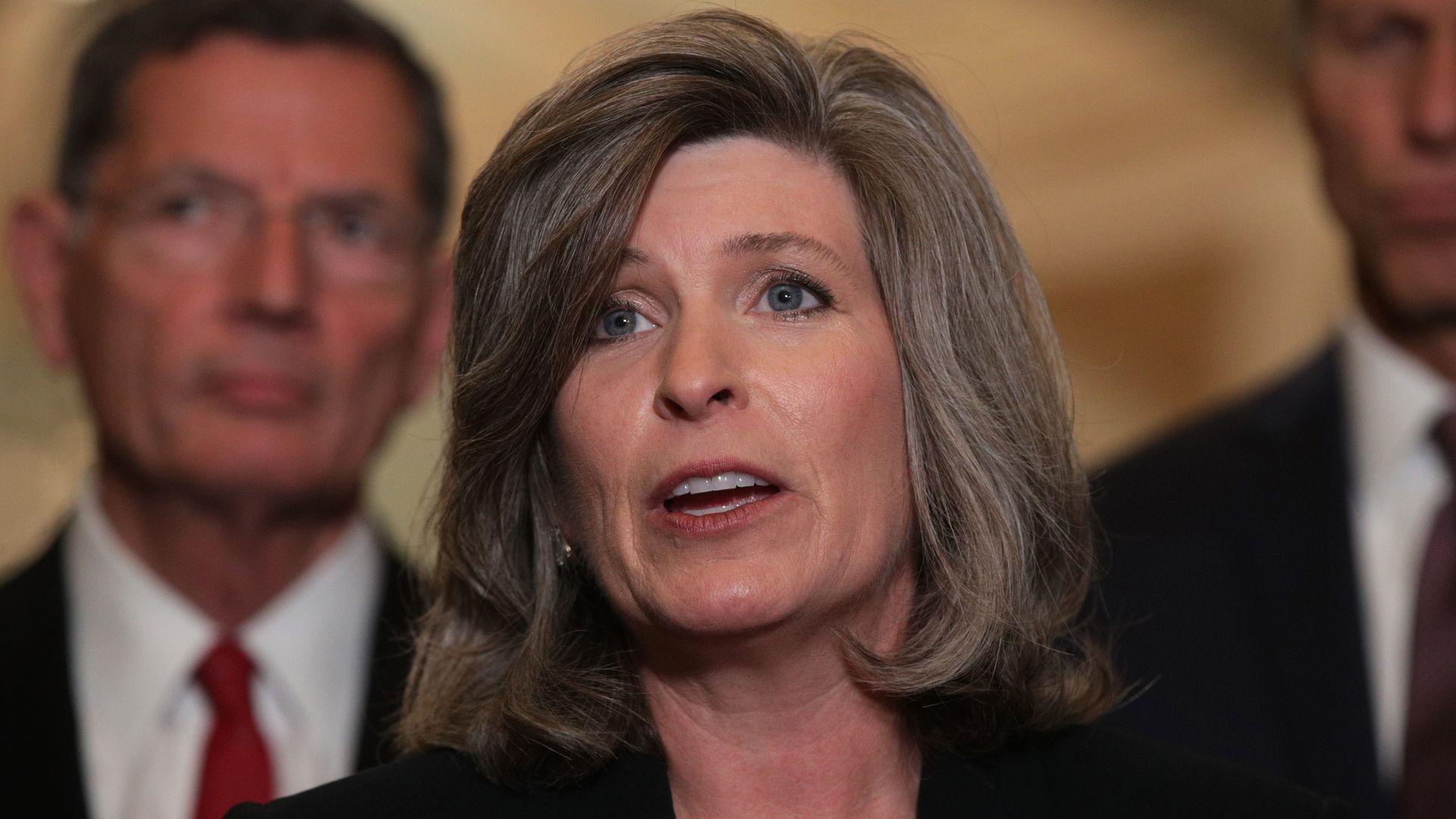 GOP Sen. Jodi Ernst joins Chuck Grassley in defending whistleblower