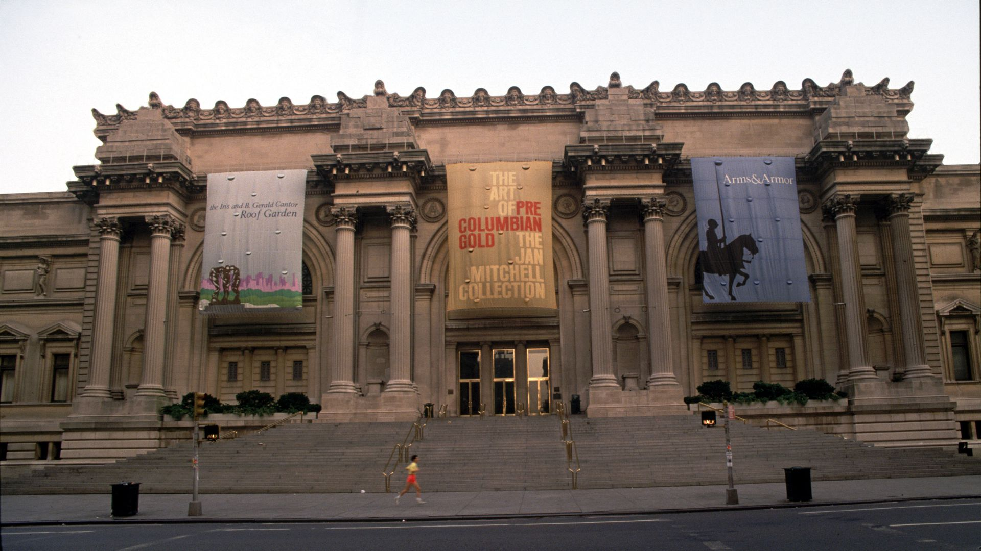 he Facade Of The Metropolitan Museum Of Art As Seen From Fifth Avenue In New York City. (Photo By Jonathan Elderfield/Getty Images)