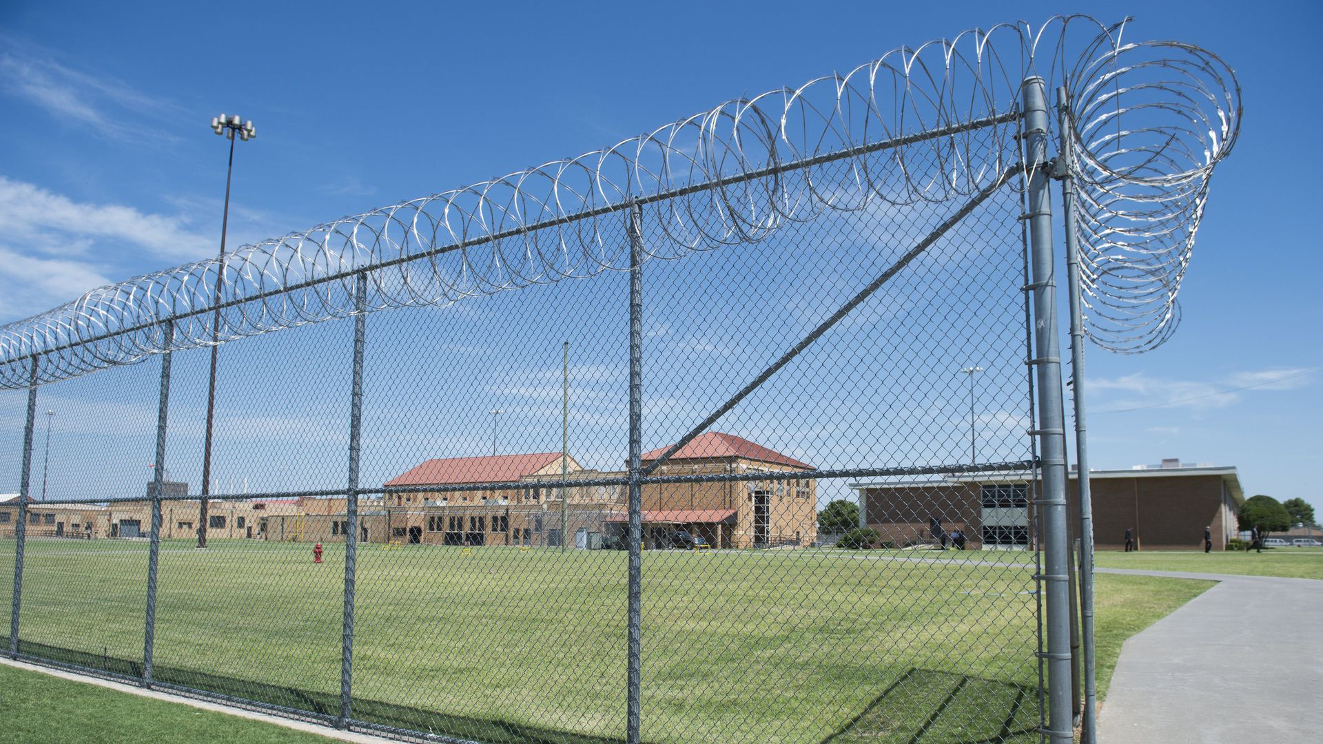 El Reno Federal Correctional Institution in El Reno, Oklahoma.