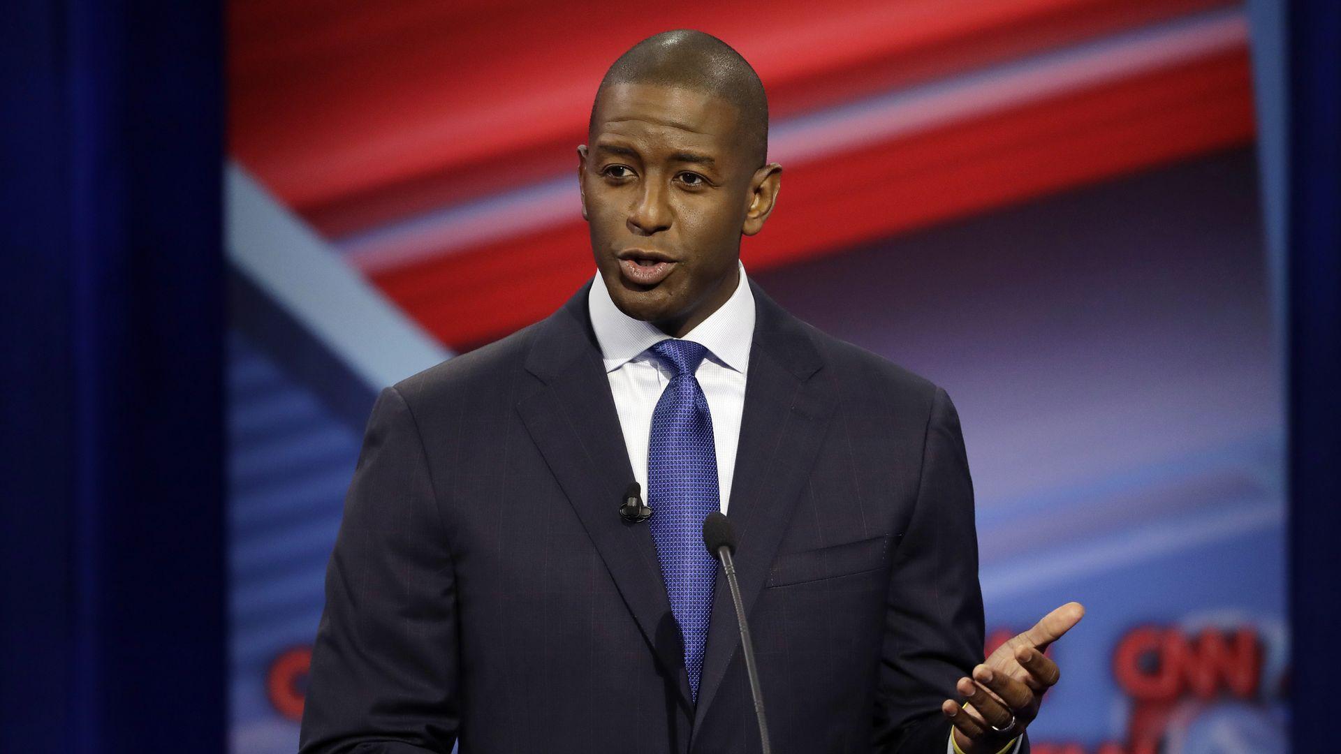 Florida Democratic gubernatorial candidate Andrew Gillum